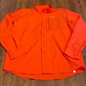 Under Armour Button Down Size Small